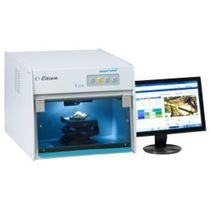 Fluorescence spectrometer / high-resolution / X-ray fluorescence / with optical microscope