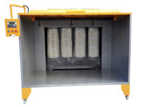Filter powder coating booth / cartridge