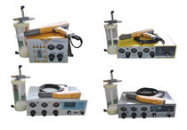 Laboratory powder coating machine
