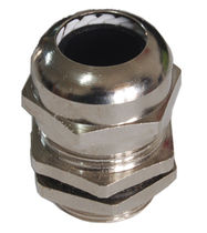 Metal cable gland / IP68 / straight