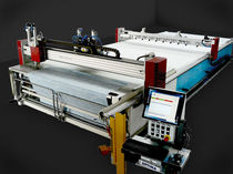 Fabric cutting machine / laser / CNC