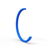 O-ring seal / curved / PU / high-pressure