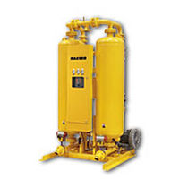Heat regenerative adsorption compressed air dryer / blower purge