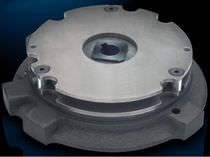 Friction brake / spring / power-off applied / for motor