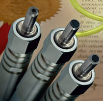 Optical data cable / flexible / polymer-clad