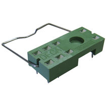 Printed circuit board relay socket