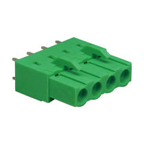 Push-in terminal block / plug-in / DIN rail-mounted / fused