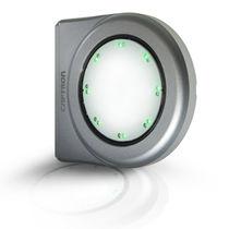 Capacitive switch / multipole / LED-illuminated / optical