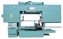 Band saw / horizontal / double-column / semi-automatic