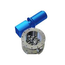 Single-roller lump breaker / horizontal / miscellaneous waste