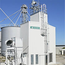 Hot air dryer / centrifugal / continuous / for the food industry