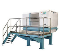 Roller mill / horizontal / for grain / food