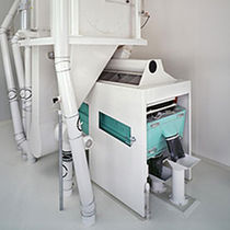 Air separator / particle / for the recycling industry