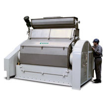 Roller mill / horizontal / food