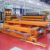 Steel cut-to-length cutting line / stainless steel / for aluminum / coil
