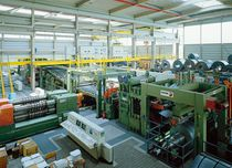 Combined cutting line / steel / for aluminum / stainless steel