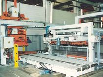 Aluminum cutting line / steel / CNC / with automatic feeder