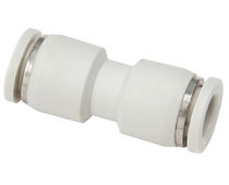 Push-to-lock fitting / straight / pneumatic / PU