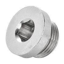 Round plug / hexagonal / male / threaded