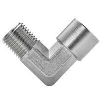 Screw-in fitting / elbow / hydraulic / pneumatic
