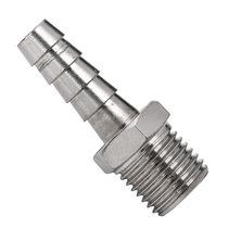 Screw-in fitting / push-in / straight / hydraulic