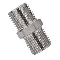 Screw-in fitting / straight / hydraulic / pneumatic