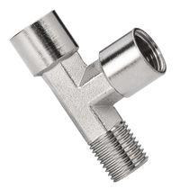 Screw-in fitting / T / hydraulic / pneumatic