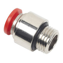 Push-in fitting / straight / pneumatic