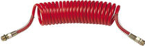 Compressed air hose / nylon / coiled