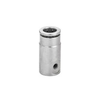 Socket fitting / straight / pneumatic / misting
