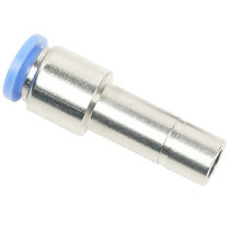 Push-in fitting / straight / pneumatic / pressure reducer