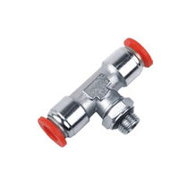Push-in fitting / T / pneumatic