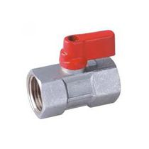 Ball valve / pneumatically-operated / for gas