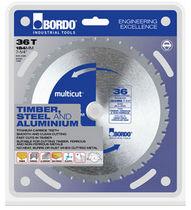 Circular saw blade / carbide / TCT / for steel