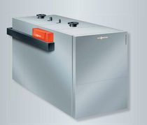 Hot water boiler / gas / condensing