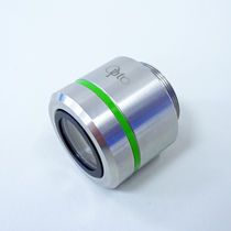 Telecentric objective lens / high-resolution / for process monitoring / measurement