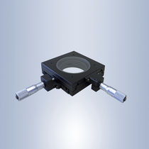 XY positioning stage / manual / 2-axis / for microscopes