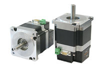 Stepper motor / permanent magnet / 12 V / integrated-drive