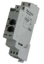 Under-voltage protection relay / phase / DIN rail / time delay