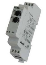 Over-voltage protection relay / phase / time delay / DIN rail