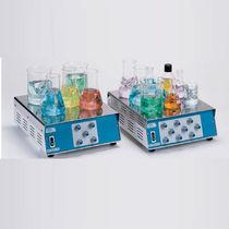 Magnetic laboratory agitator / analog / for beakers / multi-position