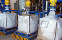 Big bag filler / automatic / pneumatic
