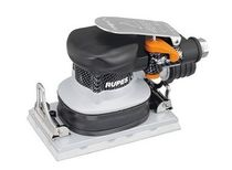 Orbital sander / pneumatic / low-vibration / suction type