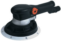 Random orbital sander / pneumatic / speed control / suction type