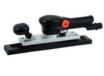 Orbital sander / pneumatic / high-performance / suction type