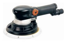 Random orbital sander / pneumatic / low-vibration / suction type