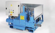 Briquetting press / hydraulic / automatic / compact