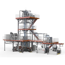 Blown film coextrusion line / 5-layer