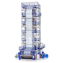 Blown film coextrusion line / 5-layer / agricultural film