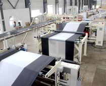 Flat-film coextrusion line / 6-layer / barrier film